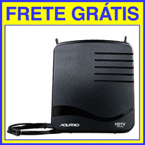 Antena Interna Digital Vhf Uhf Hdtv Fm Dtv-1100 Frete Gratis