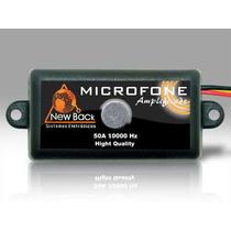 Microfone Amplificado Para Cftv New Back