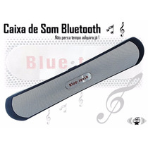 Caixa Som Portatil Bluetooth 7w Iphone Ipad Sd Usb Radio Fm