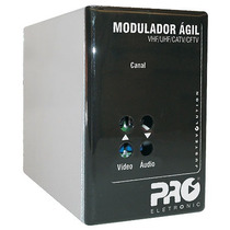Modulador Ágil Vhf/uhf/catv/cftv Pqmo-2600b Proeletronic