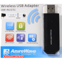Acessório Adaptador Wi-fi Usb Aw-nu231 Tv Mitsubishi Ou Lg
