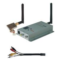 Transmissor E Receptor Sem Fio De Audio E Video 500mw P/cftv