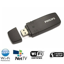 Adaptador Wireless Usb Smart Tv Philips Wi-fi Sem Fio Pta01