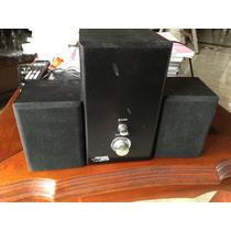 Caixa De Som Com Sub 10 W Rms 2.1 Force Line