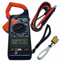 Alicate Amperimetro Digital 266c + Estojo + Bateria