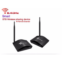 Transmissor De Áudio E Video Wifi 2.4ghz - 350m Extensor Ir