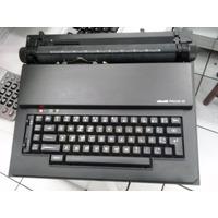 Maquina De Escrever Elétrica Olivetti Praxis 20 Usada