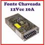 Fonte Chaveada 12v 10a Estabilizada 12vcc 10 Ampere