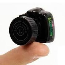 Mini Câmera Espiã Hd 720p - A Menor Câmera Hd Do Mundo