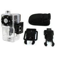 Caixa Estanque Á Prova Dágua P/ Filmadora Mini Dv Md80 C/kit