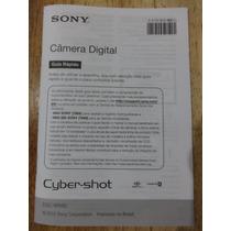 Manual Sony Câmera Digital Dsc-wx50 Em Português