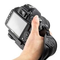 Alça De Mão Hand Strap Grip Camera Canon Nikon Sony Hs-3a