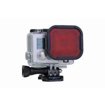 Filtro Subaquático Red Filter (vermelho) Gopro Hero3+ Hero4