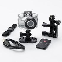 Câmera Filmadora De Ação Full Hd C Caixa Estanque E Suportes