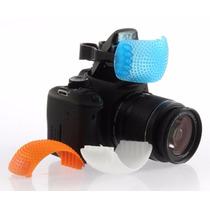 Kit Difusor Flash Pop-up Flash Pop Up 3 Cores Fuji Etc