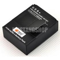 Bateria Gopro Go Pro Hero 3 Recarregavel Lithium 1300mah