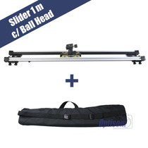 Slider Dolly Completo P/ Canon, Nikon, Sony C/ Cabeça + Bag