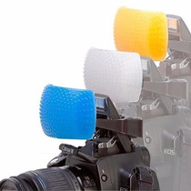 Kit Difusor Flash Pop-up 3 Cores Fuji Frete Grátis