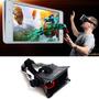 Oculos Google Cardboard Realidade Virtual Plástico Preto-c10