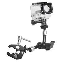 Braço Articulado Para Camera Filmadora E Gopro Magic Arm 7´´