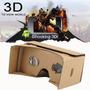Cardboard Google Kit Óculos Realidade Virtual Vr Tipo Rift
