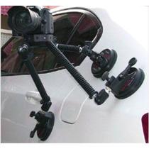 Suporte Automotivo Para Cameras Dslr E Filmadoras