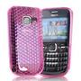 Capa De Silicone Rosa Para Nokia C3