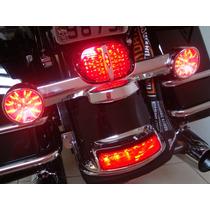 Acessorio P/ Harley - Par Led Para Os Piscas - Vermelho