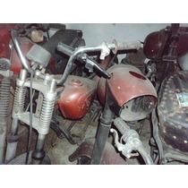 Jawa - Lote De 3 Motos Com Peças
