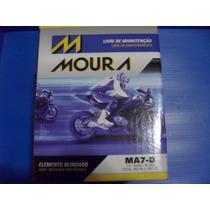 Bateria Moura Ma6-di/ytx7l-bs Falcon/twister/titan/cb300