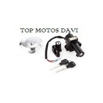 Kit Jogo Travas Chave Ignição Honda Xr 250 Tornado 01/05