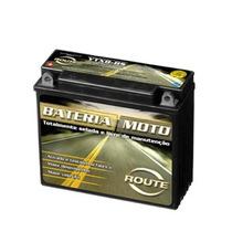 Bateria Selada Route Modelo Ytx8-bs P/ Motos 12 Volts 7 Ah