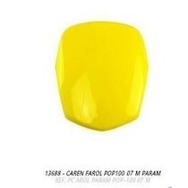 Carenagem Farol Pop100 2007 Amarelo S-adesivo
