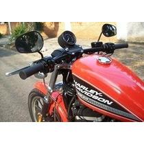 Guidon Reto 1 Harley Davidson 883 Preto Epoxi Com 80cm