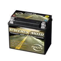 Bateria Moto Route Ytx12-bs - Ytx12bs 12 Volts 10 Ah