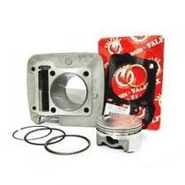 Kit Potencia C/ Pistao 2mm E Comando 285 P/titan/fan 150