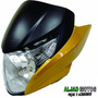 Carenagem Farol Completa Honda Titan 150 Mix Ex 2011 Amarelo