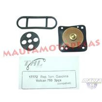 Reparo Torneira Gasolina Vulcan 750