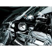 Acessório P/ Harley - Capa Cromo Vareta Óleo - Electra Road