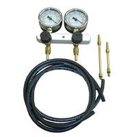 Vacuômetro Com 2 Relógios C/ Glicerina Para Motos + Precisão