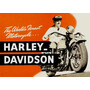 6075- Placa Decorativa Moto Motorcycle Harley Davidson