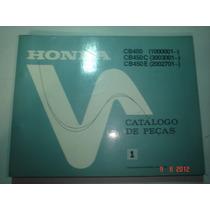 Catalogo Peças Moto Honda Cb 450 450e Custom Motocicleta Cbr