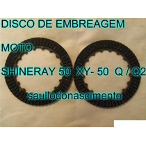 Disco De Embreagem Moto Shineray Xy-50 Q / Q2