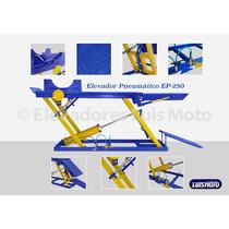 Elevador Pneumático 250 Kg 1 Pistão Luis Moto