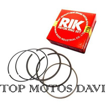 Jogo Anel Pistão Rik Moto Honda Cbx 750f 0.50 - 851