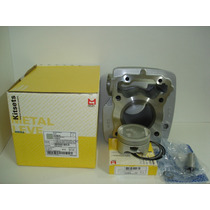 Kit Cilindro Pistao Aneis Titan150 Metal Leve 2004 A 2014