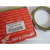 Discos De Embreagem Original Honda Titan 150 ,cbx 200
