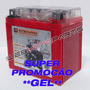 Bateria Gel Moto Honda Cg 125 Titan, Biz C100, Bros Nxr