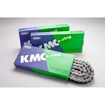 Corrente Transmissão Moto Kmc 525 Uo X 118 Elos Com Retentor