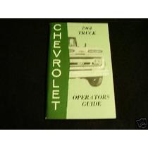 Chevrolet 1961 Truck Caminhão Manual De Proprietário